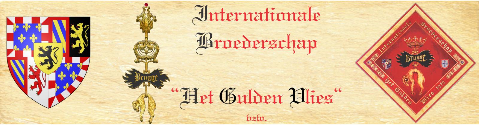 De internationale Broederschap het Gulden Vlies